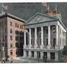 York PA Court House Security Building Night Vintage 1907 P Wiest's Postcard