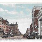 York PA East Market Street Near Center Square Vintage Shambaugh Postcard