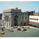 York PA Continental Center Square Taxi Cabs G C Murphy Vntg Postcard