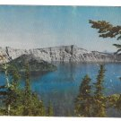 Crater Lake National Park Oregon Vintage Mike Roberts Postcard