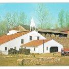 PA Hopewell Village Furnace Cast House Bridge Walter H. Miller Postcard