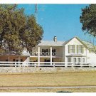 Stonewall Texas LBJ Ranch Summer Whitehouse Vintage 1964 Postcard