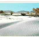 NM White Sands National Monument New Mexico Ripples Vintage Petley 4X6 Postcard