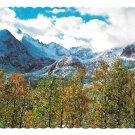 Colorado Rocky Mountains Longs Peak Keyboard of the Winds Vintage 4X6 Postcard