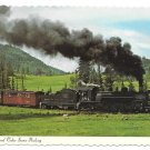 Cumbres and Toltec Scenic Railroad Passenger Train RR 4X6 Postcard