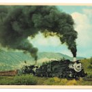 Cumbres and Toltec Double Steam Engines 483 484 Train RR 4X6 Postcard