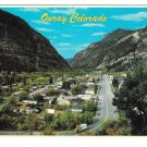 Ouray Colorado Aerial View Rocky Mountains Vintage Petley 4X6 Postcard