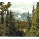 CO Colorado Continental Divide Rocky Mountains Vintage Motisher 4X6 Postcard