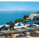 Tunisia Dar Zarrouk Sidi Bou Said Restaurant Cafe Vintage Gaston Levy Postcard 4X6