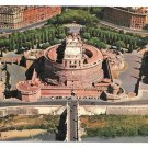 Italy Rome Castel Saint Angelo Sant'Angelo 1962 Aerial View Vintage Postcard 4X6