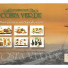 Lima Peru Restaurant Costa Verde Barranquito Beach Modern 4X6 Advertising Postcard