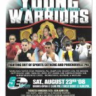 Boxing Young Warriors Mid Atlantic Amateur Event Oaks PA 2008 Advertising Card