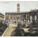 Italy Rome Campidoglio Capitoline Hill Roman Citadel Vintage UND C Blumlein Postcard
