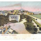 Italy Napoli Villa Municipale Aquarium Comunale Peoples Park Naples Vintage Postcard