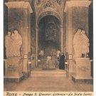 Italy Roma Piazza Giovanni Laterano Scala Santa Holy Stairs E. Risi Vintage Postcard
