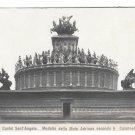 Italy Roma Castel S Angelo Mole Adriana Borgatti Castle Vntg Postcard