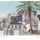 Italy Sorrento Hotel Vittoria Campania Vintage De Luca Gentile Postcard