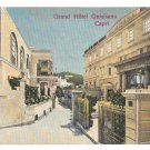 Italy Capri Grand Hotel Quisisana Via Tragara Vintage Napoli Postcard