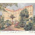 Italy Capri Grand Hotel Quisisana UND Alfieri Lacroix Postcard Serena Prop