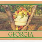 Georgia Peaches 1993 Steve Yost Postcard 4X6 A peachey place to be