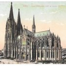 Germany Koln Dom Sudseite Cologne Cathedral South Side Vintage Leo Kurten Postcard