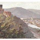 Castle Burg Lahneck Tuck Rheinburgen Oilette Series Vintage Germany Postcard