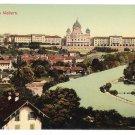 Switzerland Bern von Walbern Panoramic View Math Kleis A Gwinner Postcard