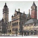 UK Imperial Institute University of London Vintage Postcard Hartmann