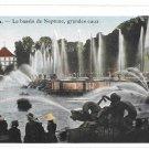 Versailles Fountains France Bassin de Neptune Grandes Eaux Vintage Postcard