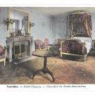 France Versailles Petite Trianon Chambre Marie Antoinette Vintage Postcard