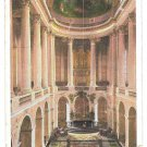 France Versailles Palace Interieur La Chapelle Chapel Interior Postcard