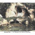 France Versailles Bosquet Bains Apollon Grove Baths of Apollo Grotto Postcard