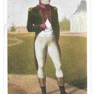 Napoleaon Bonaparte 1st Consul Versailles Portrait Isabey Painting Vntg Postcard