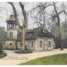 Versailles Trianon Dairy Laiterie Malborough Tower Vintage Mme Moreau Postcard