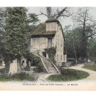 France Versailles Parc du Petit Trianon Le Moulin Mill Vintage Mme Moreau Postcard