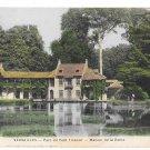 France Versailles Parc du Petit Trianon Maison de la Reine Vintage Postcard Mme Moreau
