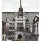 UK London England Guildhall Lord Mayors Carriage Vintage Hartmann 1001 48 Postcard