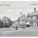 UK Scotland Melrose Market Square Vintage Postcard Reliable Series