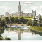 UK Scotland Glasgow University Vintage Bauermeister Quality Series Postcard