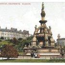 Scotland Glasgow Stewart Fountain Kelingrove F Bauermeister Vintage UK Postcard