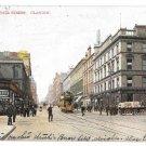 Scotland Glasgow Sauchiehall Street Vintage 1908 Postcard F Bauermeister UK