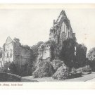 UK Scotland Dryburgh Abbey Ruins from East Vintage Postcard Scottish Bordersrd F Bauermeister UK