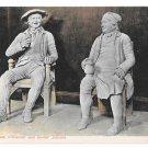 UK Scotland Robert Burns Characters Tam O'Shanter Souter Johnnie Vntg GWW Postcard