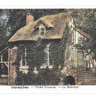 France Versailles Chateau Petit Trianon Le Boudoir Vintage Postcard