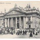 Belgium Bruxelles La Bourse Brussels Stock Exchange ca 1908 Vintage Postcard