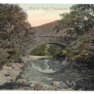 Scotland Trossachs Brig o Turk Bridge Vintage Valentine Series Postcard ca 1908