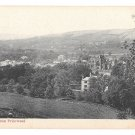 Scotland Melrose Abbey View from Priorwood Garden GWW Postcard ca 1908