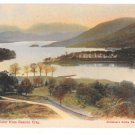UK Coniston Water from Beacon Crag Vintage Abraham's Series Color Postcard
