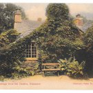 UK Grasmere Dove Cottage Wordsworth Home Vintage Abraham's Series No 444 Color Postcard