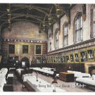 UK Christ Church Dining Hall Oxford Vintage Frank Smith Postcard